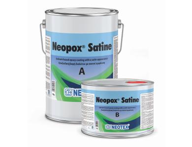 Neotex Neopox Satine Λευκό (RAL9003) 6Kg (Α+Β) Εποξειδική Βαφή Διαλύτου Δύο Συστατικών Σατινέ